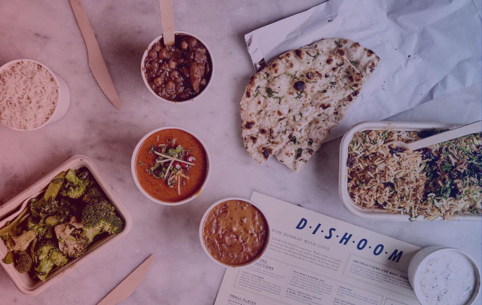 Dishoom food and menu