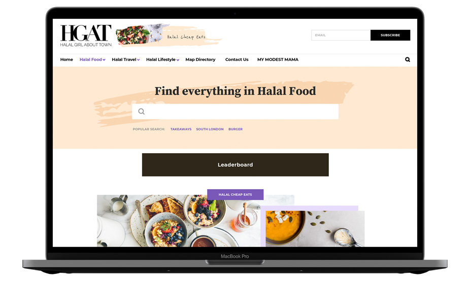 Halal Girl About Town Home Page