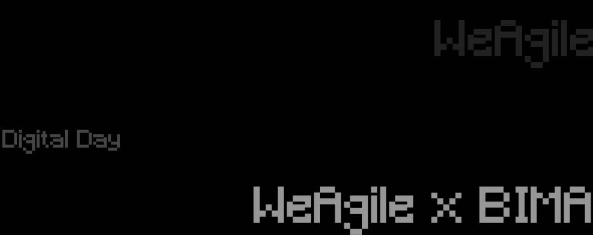 WeAgile x BIMA Digital Day